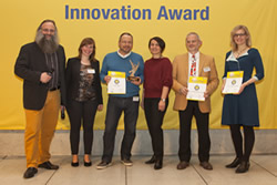 Winners of the innovation award Bio-based Material of the Year 2016