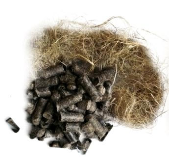 Hemp Fibres and Pellets