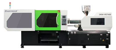 Custom made injection molding machines for PET and PVC materials