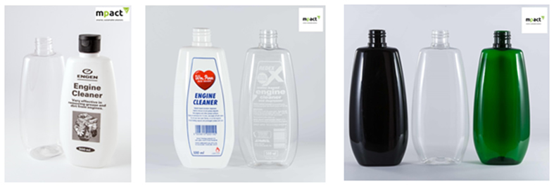 PET bottles-for-packaging chemicals - detergents etc