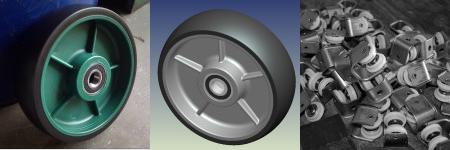 Custom Castor Wheels