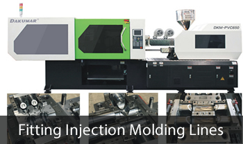 Fitting Injection Molding Machines