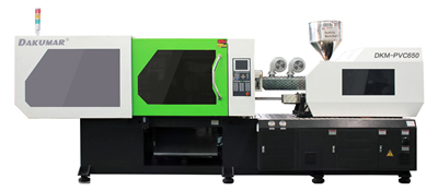 Injection Molding Machines for molding with PET and PVC materials