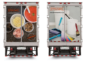 Dynamic Plastics - trucks branded