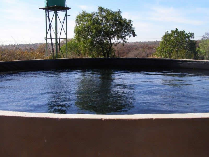 Water Reservoir with Dam Liner