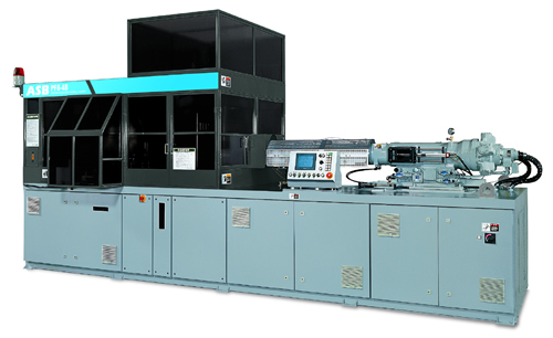 Injection stretch blow moulding machine